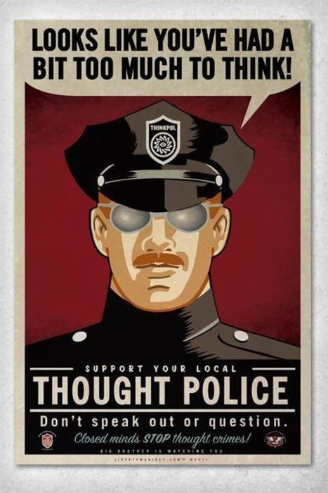 'Ware the Thought Police!