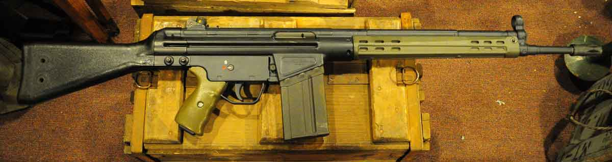 Springfield Armory SAR 8, steel receiver, built by EBO in Greece on HK tooling.