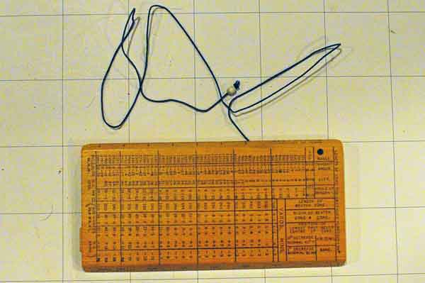 Vickers slide rule